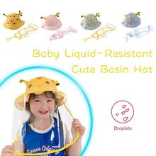 Hat Basin Fisherman-Hat Anti-Epidemic-Hat Baby-Hat Protective Liquid-Resistant 1-5-Years-Old