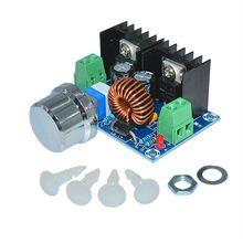 XH-M401 Step понижающий преобразователь питания Модуль pwm регулируемый 4-40 В до 1,25-36 В напряжение постоянного тока регулятор 8A 200 Вт