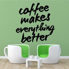 Новые настенные наклейки caffee домашний декор Декор гостиная