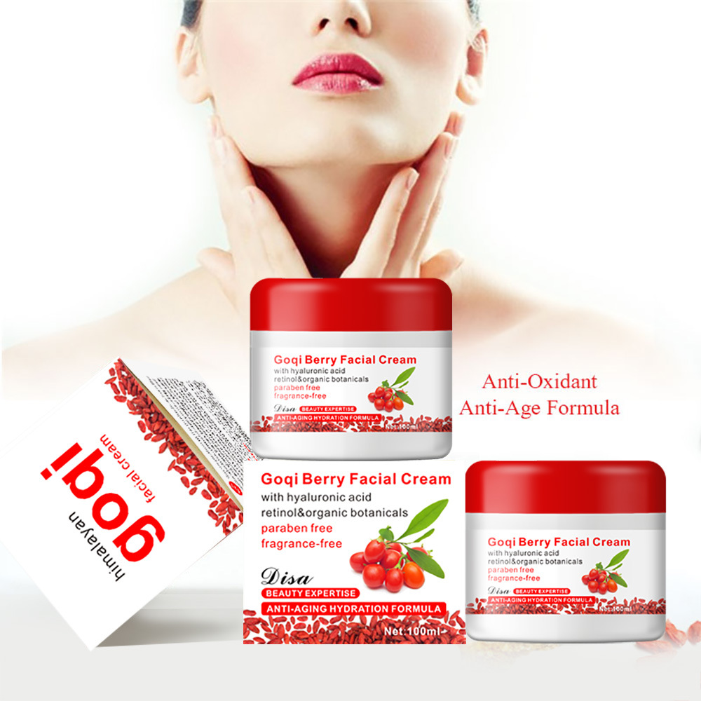 100g Goji Berry Face Cream Skin Regeneration Anti-Wrinkle Moisturizing