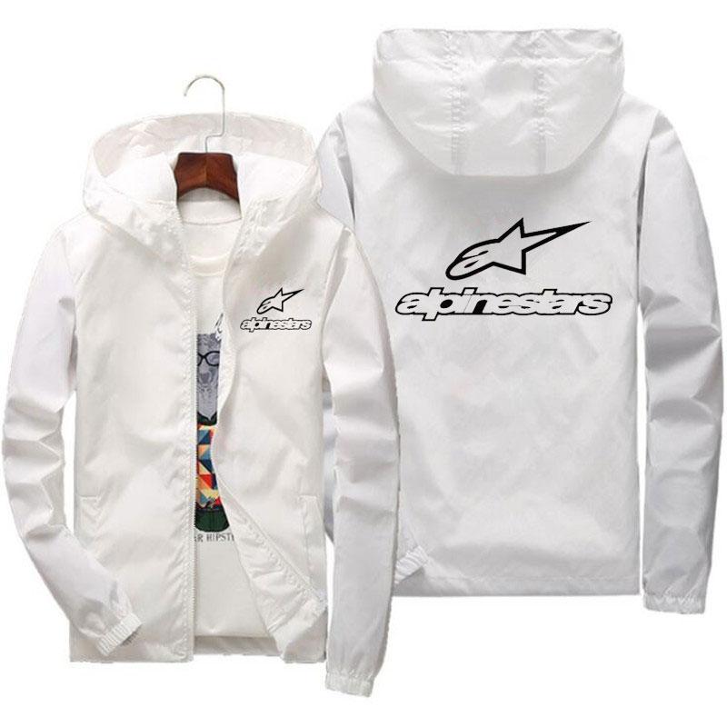 2020 primavera e verão nova alta montanha estrela jaqueta de rua dos homens blusão com capuz zíper fino jaqueta masculina jaqueta casual 7xl 2