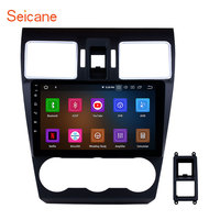 Seicane 9 8 core Android 9.0 2din Car Radio Stereo Audio Multimedia Player GPS Head Unit for 2014 2015 2016 Subaru WRX forester