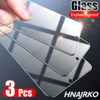 Protector de pantalla de cristal templado para Huawei, Protector de pantalla completo para Huawei P20 P30 P40 Mate 20 30 Lite P Smart 2019, Honor 10i 8X 9X 10 Lite, 3 uds.