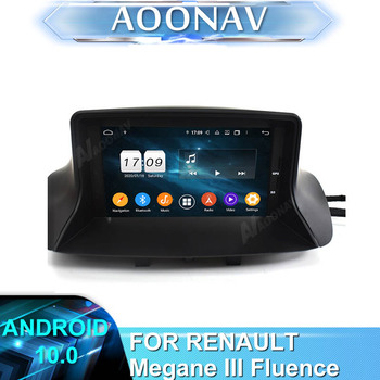 2 din 2DIN Android Car radio DVD player FOR RENAULT Megane III Fluence 2009-2016 car stereo autoradio auto audio GPS navigation image