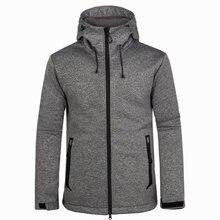 2020 Мужская весенне осенняя флисовая куртка с мягкой оболочкой