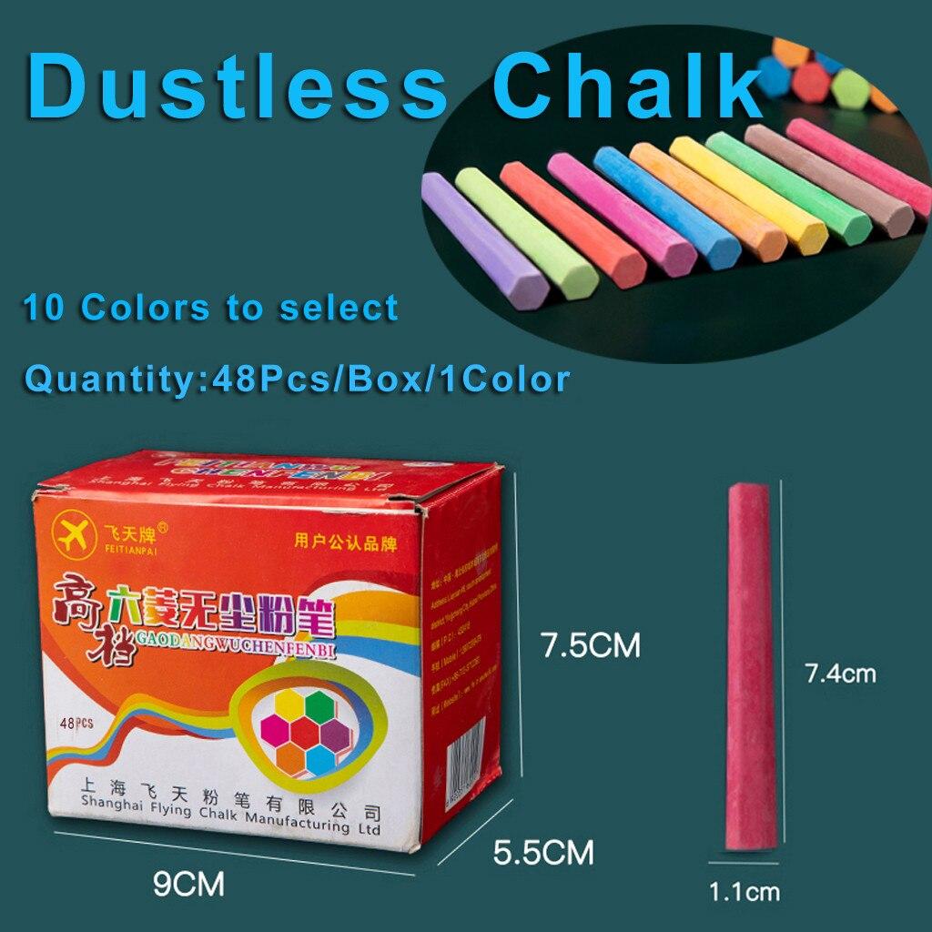 Colorful Chalks Children Kids Pavements Sticks Assorted Art Floor Drawing Chalk