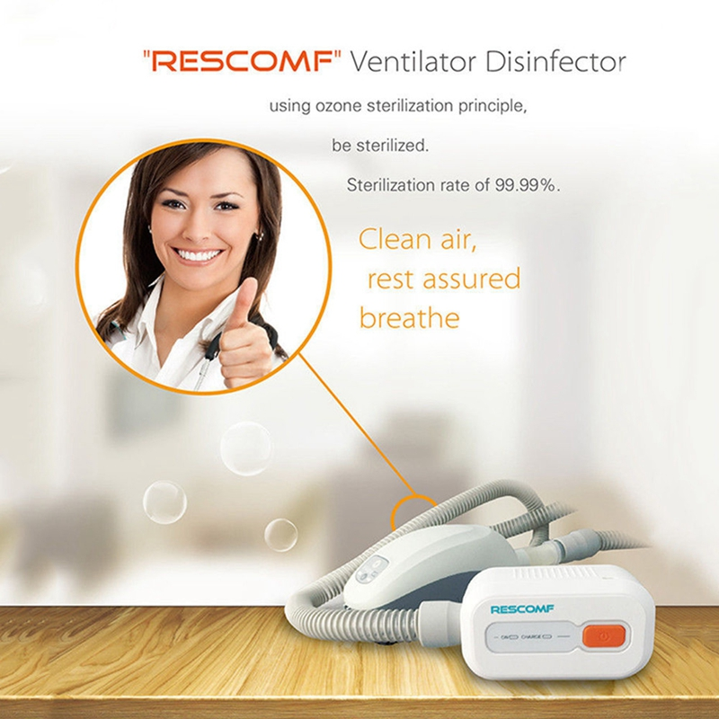 Ventilating Sterilizer CPAP BPAP Cleaner Ozone Sterilizers Disinfector Sanitizer Sleep Apnea Snoring Indoor Room Sterilization