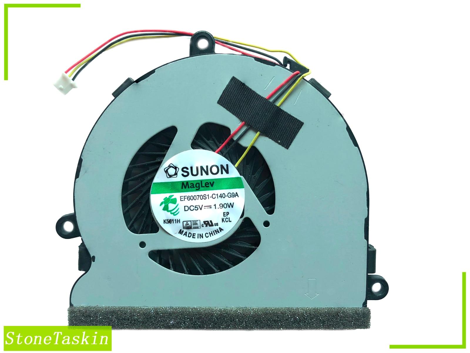 Оригинальный новый для DELL INS N5537 N3521 N5521 3537 15R 5537 15R 74X7K охлаждения EF60070S1-C140-G9A Вентилятор охлаждения Тест Бесплатная доставка