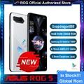 Offizielle Original Asus ROG 5 5G Gaming Telefon Snapdragon 888 6,78 zoll AMOLED 144Hz 65W Hyper Ladung 6000mAh 64MP Globale Rom Rog5