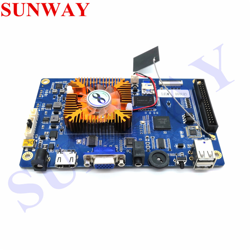 2019 latest Pandora 3D 2448 in 1 support WIFI online download game Retro Arcade Games PCB Board 134*3D Games FAMILY VER