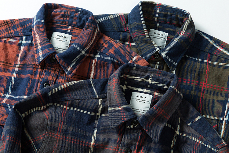 Hdcc94f2227504620a1bfd1401e196be5G 100% cotton heavy weight retro vintage classic red black spring autumn winter long sleeve plaid shirt for men women