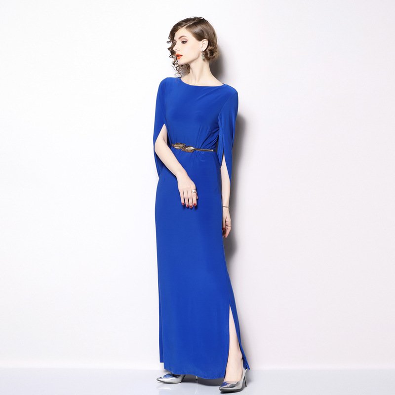 <font><b>Ladies</b></font> Long <font><b>Sexy</b></font> <font><b>Dresses</b></font> Party Night Club <font><b>Dress</b></font> 2019 Spring Women Maxi Split <font><b>Dress</b></font> Dames Jurken Robe Femme SukienkiK9640 image