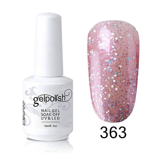 Elite99 15ml Gelb Farbe Nagel Gel Lacke Nail art Design Maniküre Tränken Weg Emaille Gel Polnisch LED UV Gel nagellack Lack