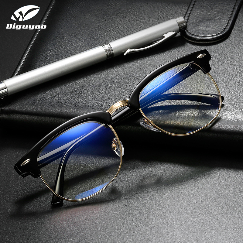 NEW 2016 Men Brand Exquisite luxury Round Glasses Women Metal frame Frame Optical Eye glasses Myopic Vintage glasses Frame