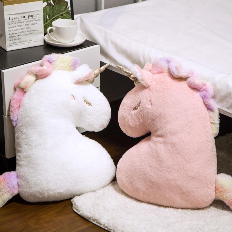 Unicorn Plush Toys Pillow Stuffed Cushion Soft Plush Unicorn Toys Room Decor Kids Toys Girlfriend Children Birthday Gift