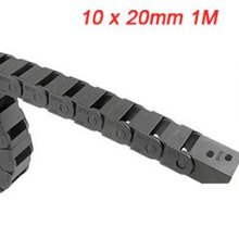 Promotion ! 10 x 20mm 1M Open On Both Side Plastic Towline Cable Drag Chain