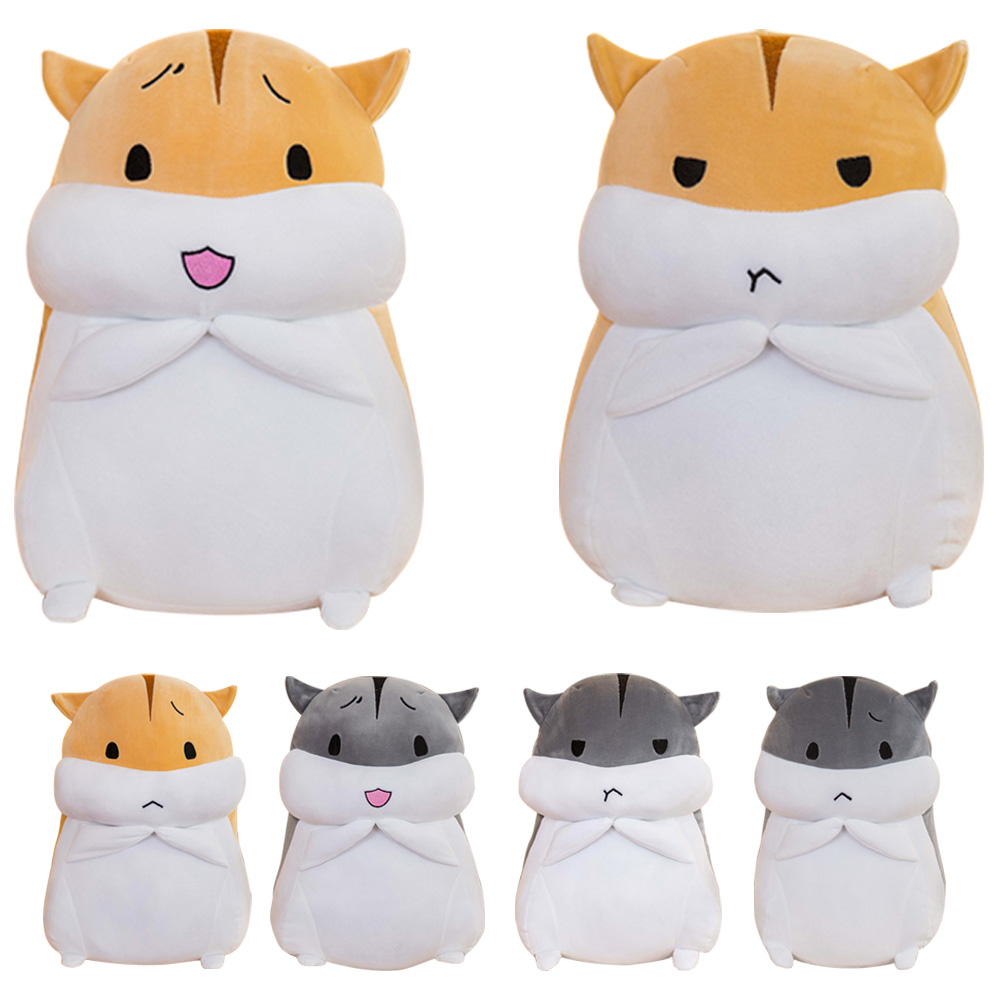 40cm Lovely Hamster Plush Doll Stuffed Cartoon Animal Soft Pillow Birthday Christmas Gifts Cute Toys for Children Kids