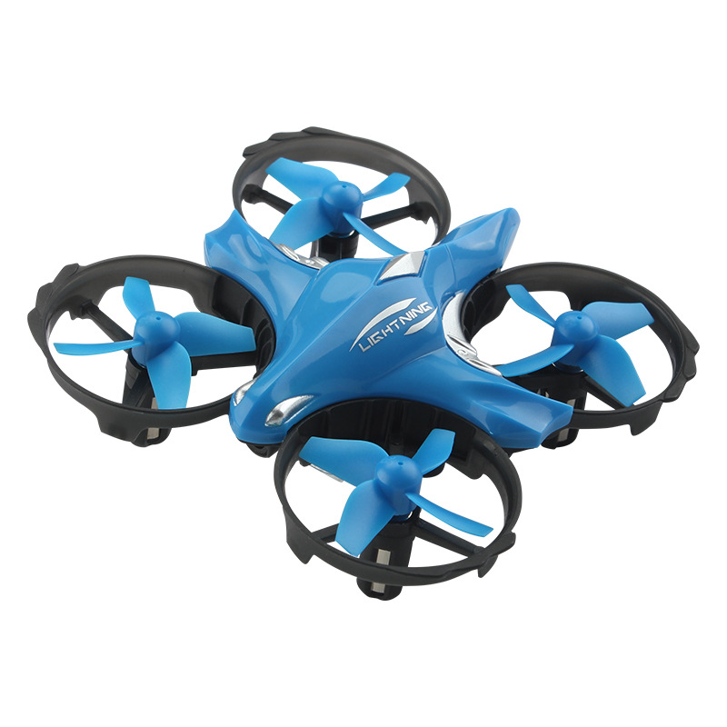 Four-axis Induction Vehicle Infrared Interactive Sensing A Key Throw Off Remote Control Aircraft Indoor Unmanned Aerial Vehicle