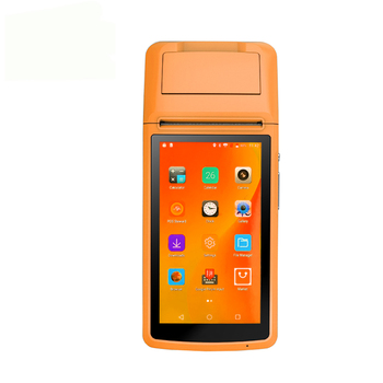 Android Wifi POS PDA Terminal 2D Barcode Scanner Reader Printer 58mm Thermal Receipt Bluetooth Rugged handheld Terminal недорого