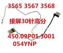 Dell vostro 15-3565 3567 3568 alta pontuação tela linha de exibição cabo 054ynp