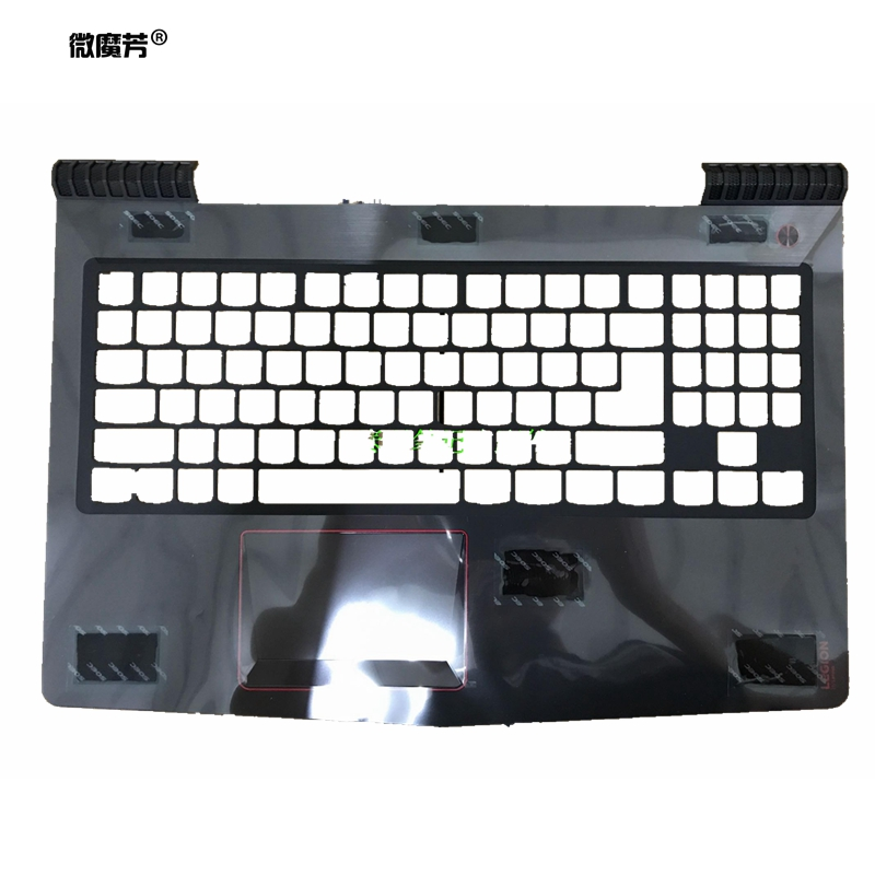 GZEELE New laptop upper <font><b>case</b></font> cover for <font><b>lenovo</b></font> <font><b>Y520</b></font> R520 R720-15IKB R720-15 AP13B000300 Palmrest <font><b>case</b></font> with Touchpad UK image