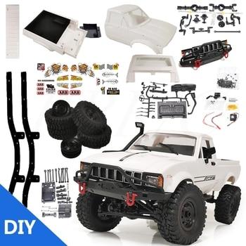 2,4G Wireless Controller Maßstab 116 C24-1 Pickup Lkw Vier-rad Drive RC Rock Crawler Auto 4WD DIY Montage RC Auto Kit