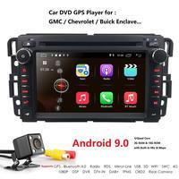 Ossuret Android 9.0 7Inch 2G RAM Car DVD Player for GMC Yukon Denali Acadia Savana Sierra Chevrolet Express Traverse Equinox DAB