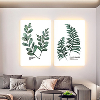 Mural lamp modern minimalist porch Nordic led living room sofa background wall decoration painting bedroom bedside wall lamp