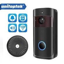 IP Video Intercom WI FI Video Tür Telefon Tür Glocke 720P WIFI Türklingel Kamera Für Wohnungen IR Alarm Drahtlose Sicherheit kamera
