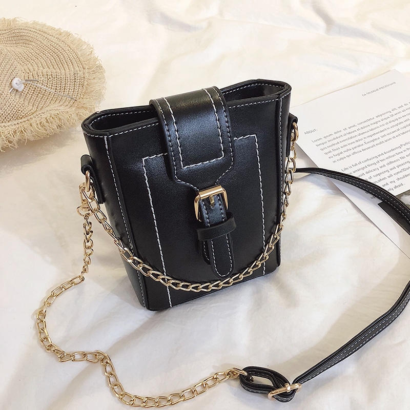 MONNET CAUTHY New Arrival Female Bags Concise Leisure Fashion Crossbody Bag Solid Color Black Yellow Green White Mini Bucket in Top Handle Bags from Luggage Bags