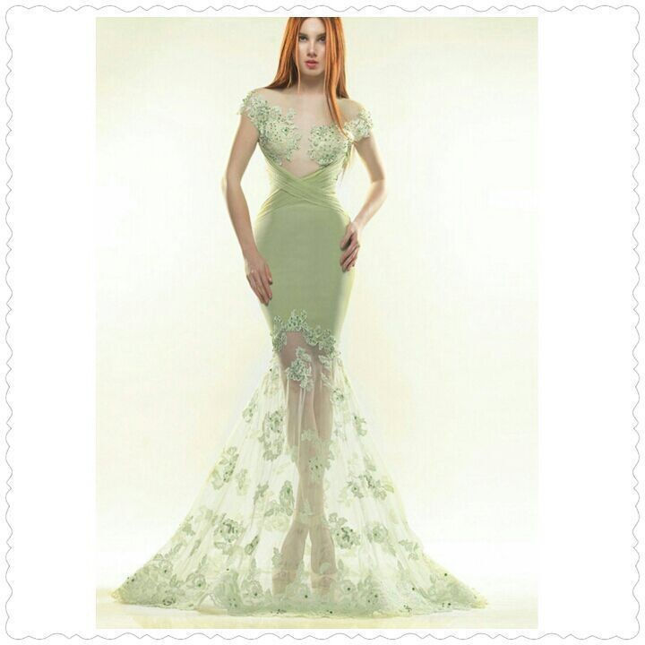 2018 Vestido De Noiva Dreamy Jewel Appliqued Beaded Sheer Lace Appliques Cap Sleeve Mermaid Party Prom Gown Bridesmaid Dresses