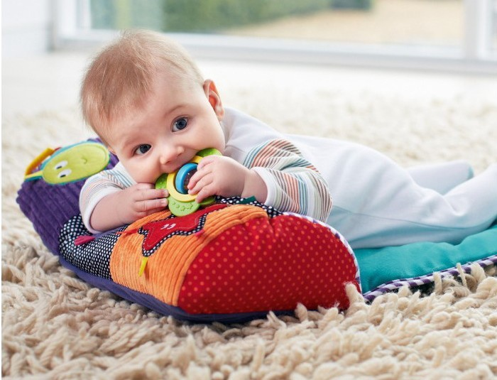 Baby Climb Blanket Pa Pa Zhen Pillow Game Blanket Instability In Children With Rattle Xiang Zhi Teether