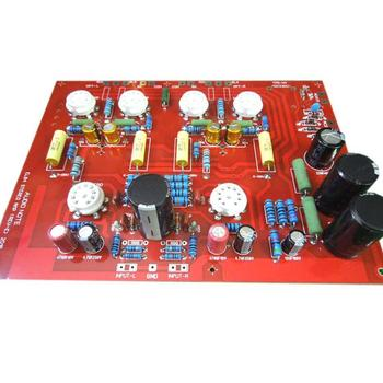 High Quality Hi-End Stereo Push-Pull EL84 Vaccum Tube Amplifier PCB DIY Kit Ref Audio Note PP Board