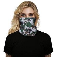 Открытый шарф лицо чехол мода открытый маска шарфы многофункциональный функциональный бесшовные повязка для волос голова шарф бандана шея чехол