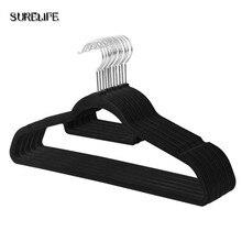 Hanger Hangers-Suit-Hangers Velvet Space-Saving Non-Slip Durable And Strong 30pcs 360-Degree