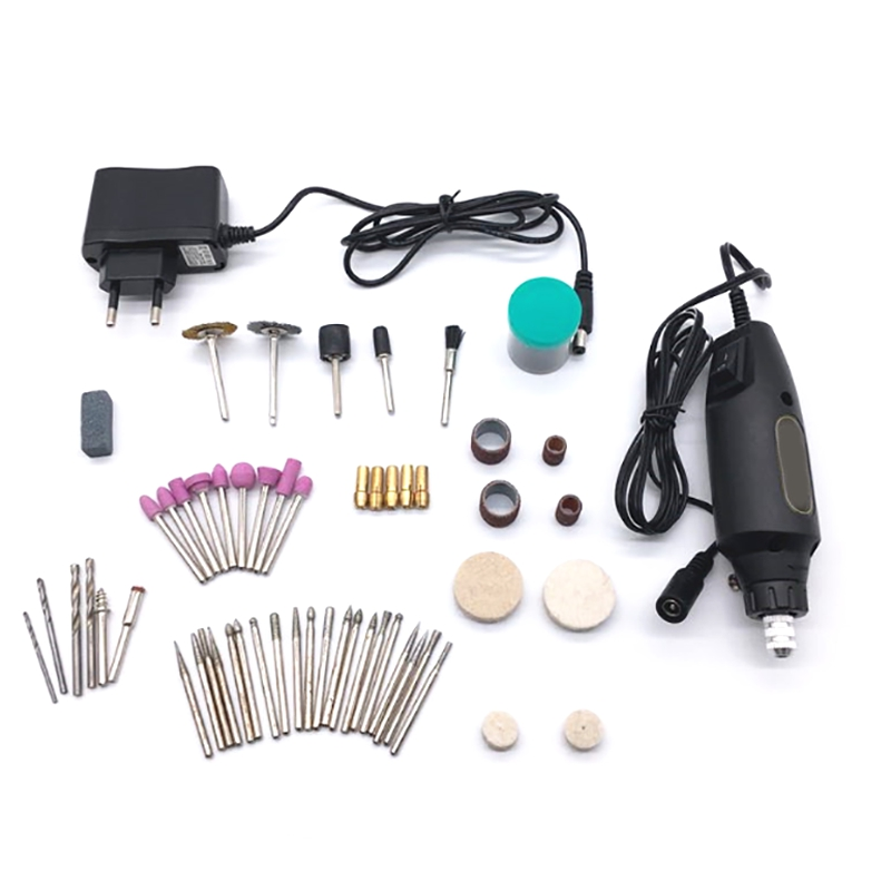 Electric Grinder Mini Drill For Dremel Grinding Set 12V Dc Dremel Accessories Tool For Milling Polishing Drilling Cutting Engrav