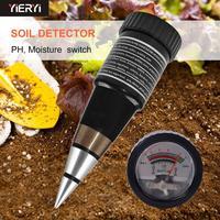 Verificador handheld quente da umidade do medidor VT-05 do solo com escala 3 88ph do ph do medidor do ph do solo de digitas  escala 1 8 8 do humidificador