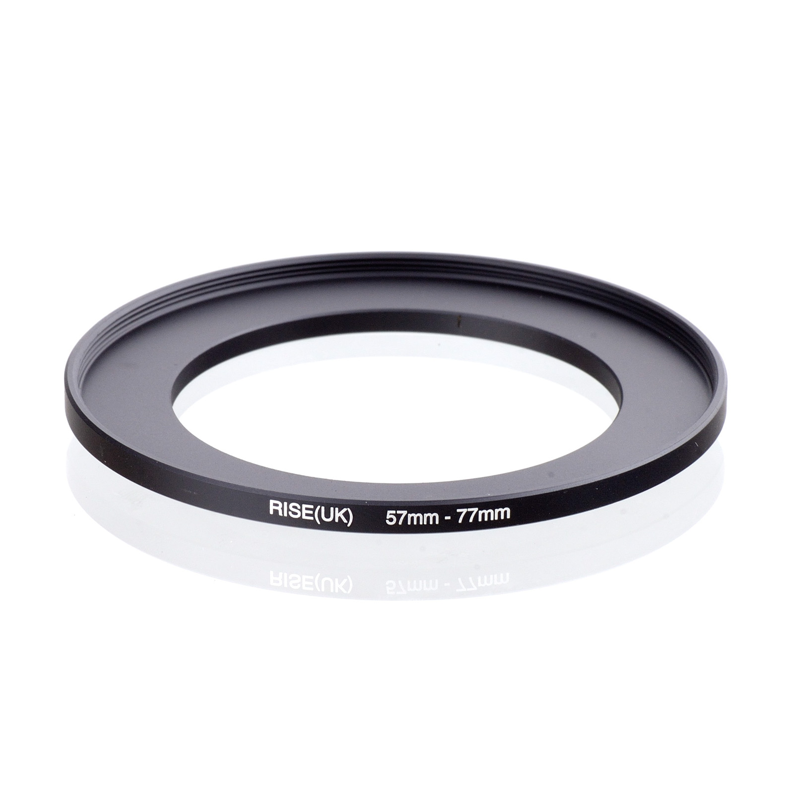 RISE(UK) 57mm-77mm 57-77 Mm 57 To 77 Step Up Filter Ring Adapter