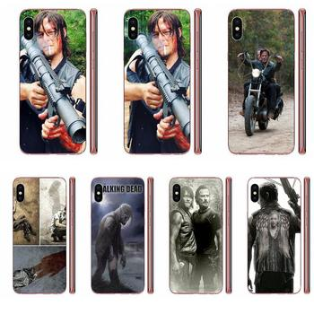 Soft Phone Case Cover For Samsung Galaxy A51 A71 A81 A90 5G A91 A01 S11 S11E S20 Plus Ultra Darly Dixon The Walking Dead Zombies image