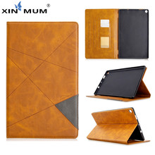For Kindle Fire HD 10 Smart Case Luxury Flip PU Leather E-book Reader Wallet Stand Shell For Fire HD 10 HD10 2015 2017 Case