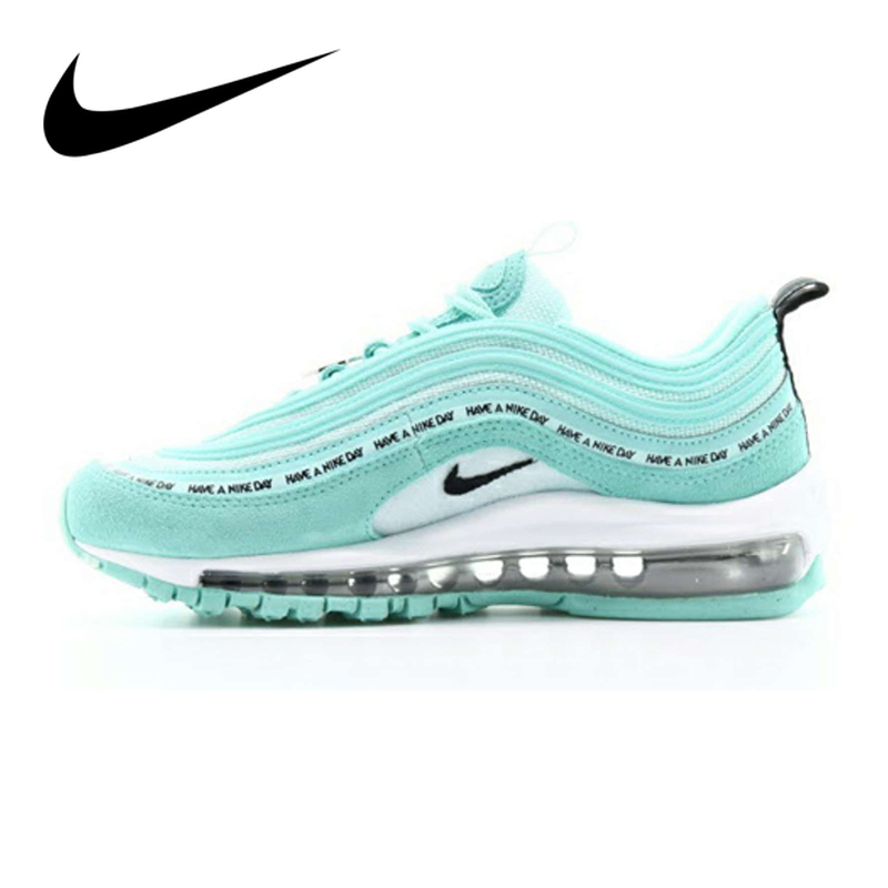 Original Nike Air Max 97 Women's Running Shoes Sports Outdoor Sneakers Shock Absorbing Good Quality 2019 New Arrival 921733-701