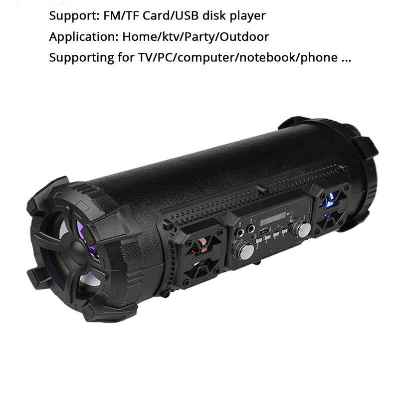 Sans fil Bluetooth étanche Portable haute puissance 15W musique baril haut-parleur pour extérieur VDX99