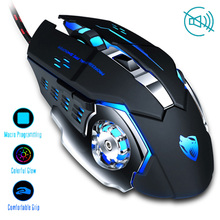 Professional Wired Gaming Mouse 6 Button 3200DPI LED Optical USB Computer Mouse Gamer Mice Game Mouse Silent Mause For PC laptop цена и фото