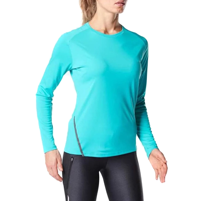 Hot Selling Women Sun Protection T-Shirt Long Sleeves UPF 50+ Outdoor Performance Top