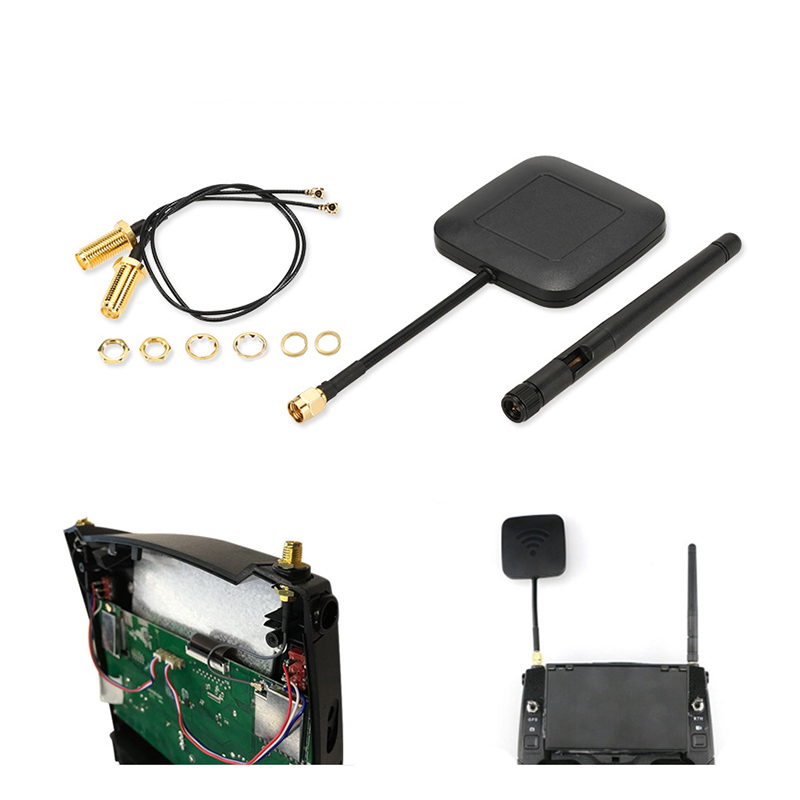 5.8G 14dBi Enhanced Range Modification Antenna Kit High Gain Receiver Antenna RP-SMA Signal Booster For Hubsan H501S H25G