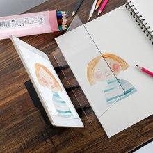 Оптическое изображение доска для рисования эскиз отражение Затемнения Кронштейн Трассировка доска эскиз доска для рисования стол игрушка для Рождественский подарок