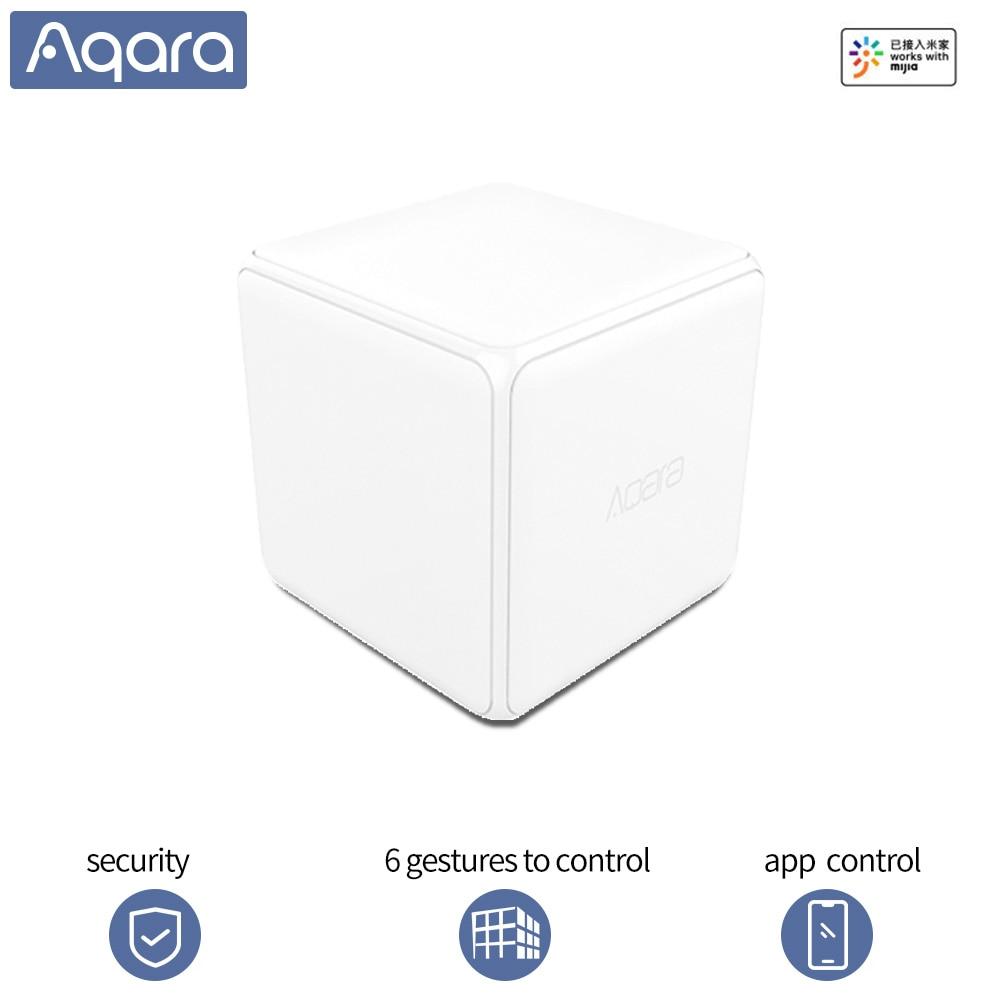 Aqara Magie Cube Controller Wireless schalter Unterstützung 6 gesten Zigbee sensor unterstützung Mihome app Verbinden smart home