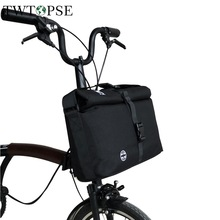 TWTOPSE Bike Roll Top Bag For Brompton Folding Bicycle Bag Water Resistant Rain Cover