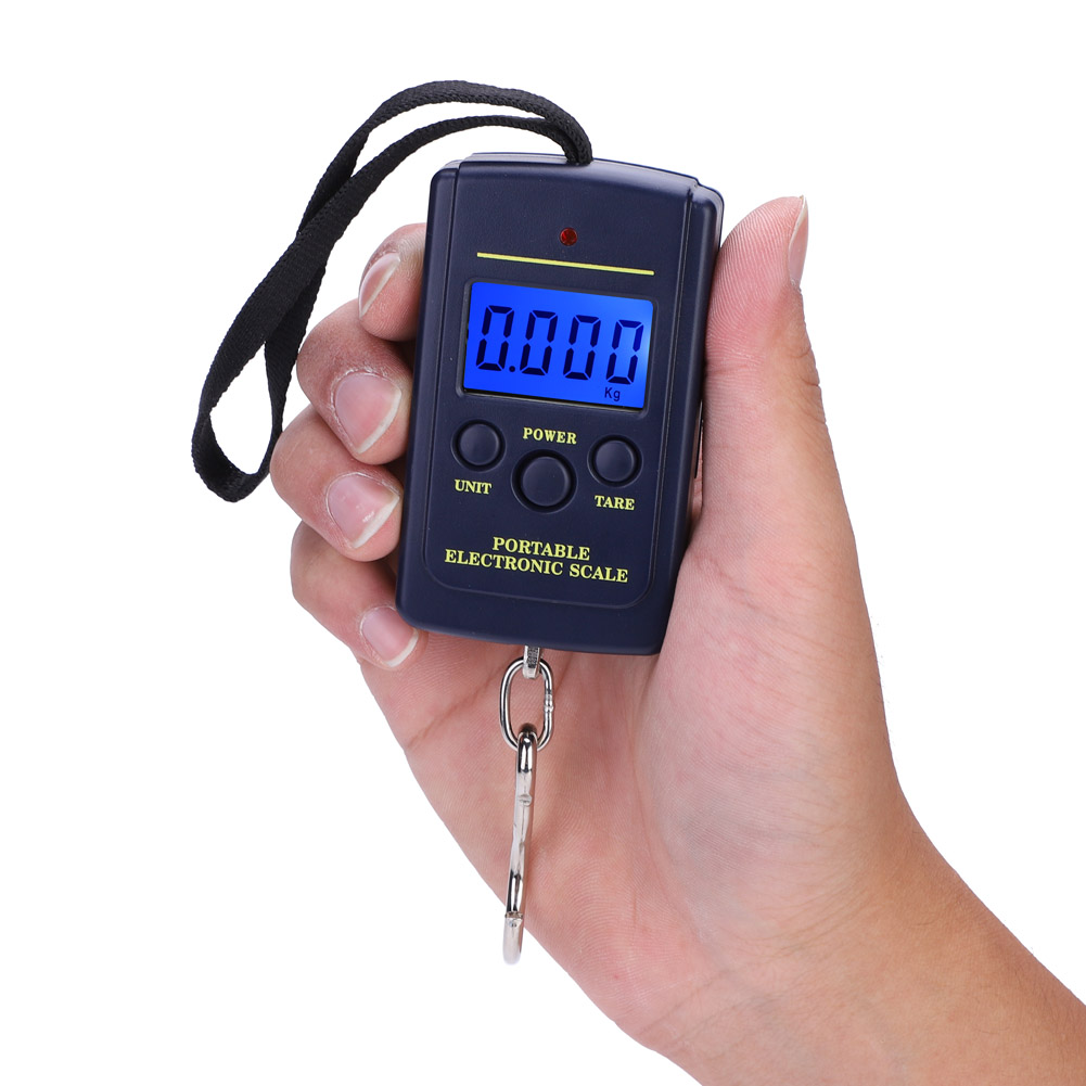 Digit Scale Portable Electric Digital Hanging Scale Balance Digit Scales With Hook Tool Fishing Luggage For Retails