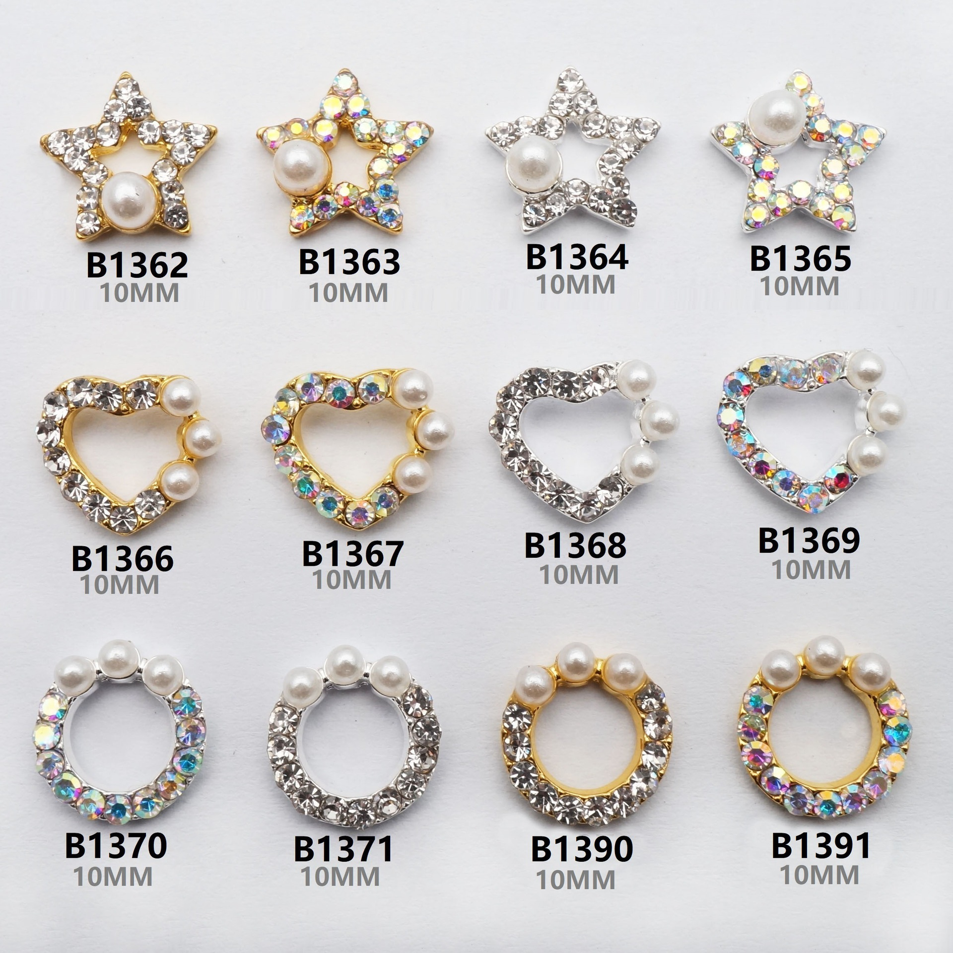 Currently Available Wholesale Nail Ornament Nail DIY Materials Manufacturers New Style Japanese-style Ren Qi Kuan Manicure Diamo